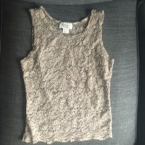 Vintage Victoria's Secret Lace Tank Top